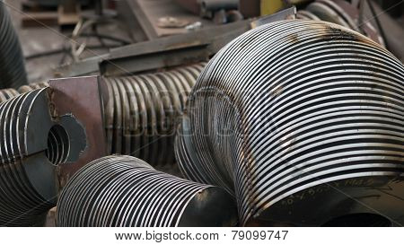 Industrial Parts At A Factory