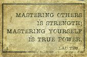pic of philosopher  - mastering others is strength  - JPG