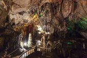 stock photo of cave  - The Chang cave  - JPG