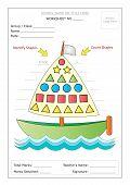 image of montessori school  - Editable Montessori Worksheet - JPG