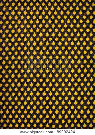 Black Knitted Fabric Background