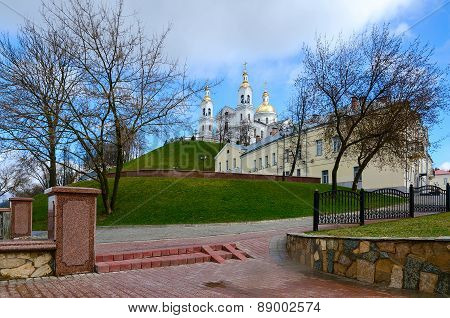 Holy Dormition Cathedral On The Uspenskaya Mountain