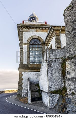 Lighthouse Of Luarca, Asturias,