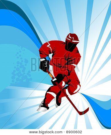 Hockey Red;