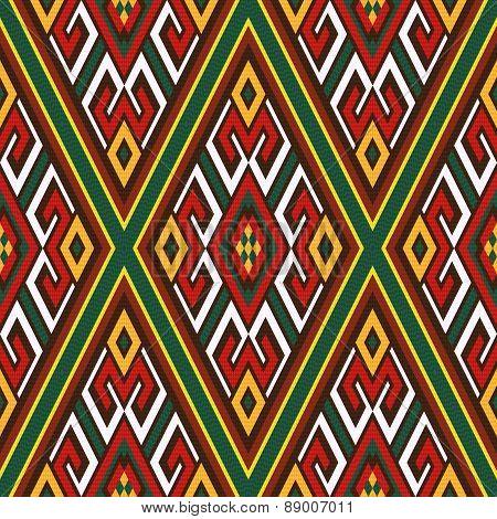 Seamless Oriental Ornamental Pattern