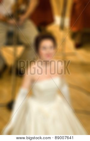 Classical concert blur background
