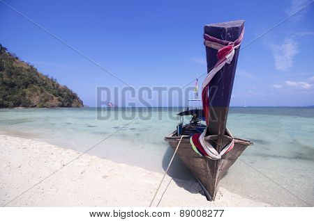 Separated Sea (thale Waek) : Krabi Thailand
