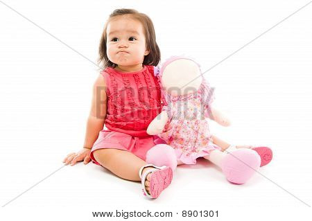 Baby With Angry Expression