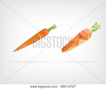 Low Poly Carrot