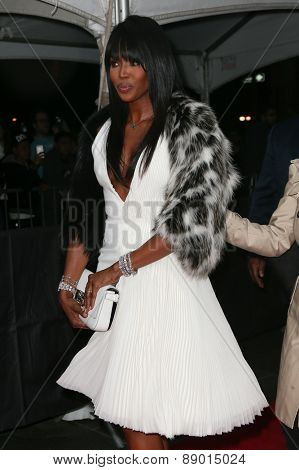 NEW YORK-APR 21: Model Naomi Campbell attends the 2015 Time 100 Gala at Frederick P. Rose Hall, Jazz at Lincoln Center on April 21, 2015 in New York City.