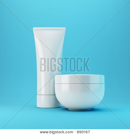 Cosmetic Products 2 - Blue