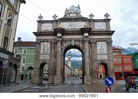 Triumphal Arch Innsbruck, Austria