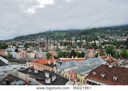 Townscape Of Innsbruck, Switzerland.