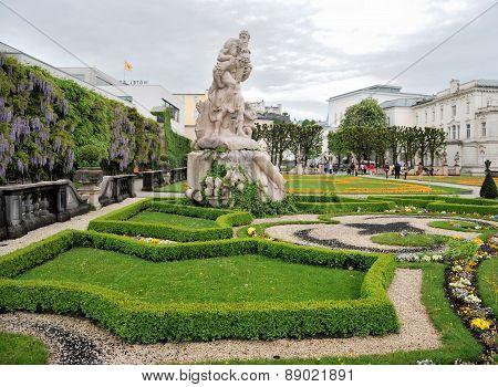 Sculpture In The Park. Salzburg, Austria