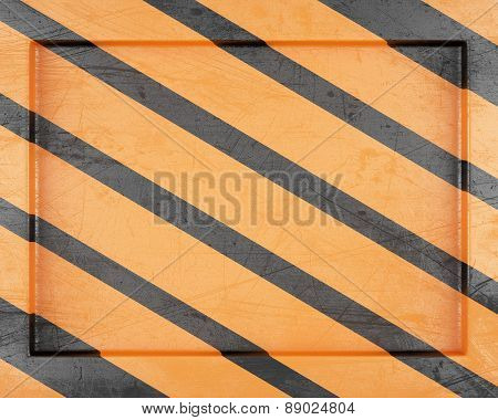 Striped Metal Frame