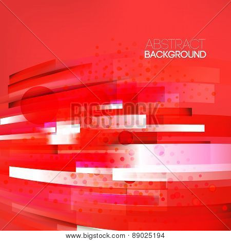 Abstract Bottom Oriented Red Colors Background