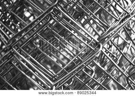 Metal Mesh Wire Closeup