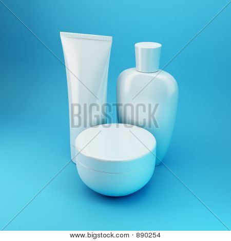 Cosmetic Products 6 - Blue
