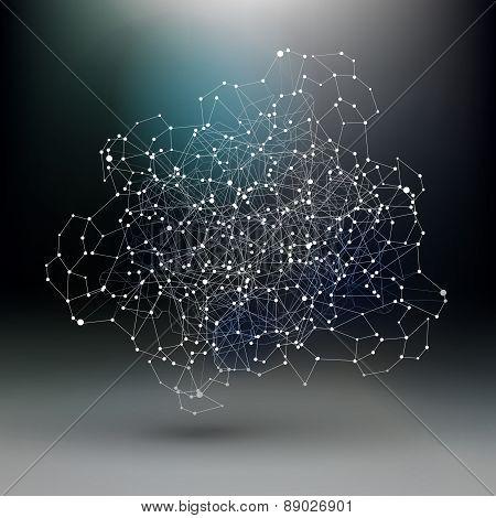Abstract Communication, Dark Network Scheme