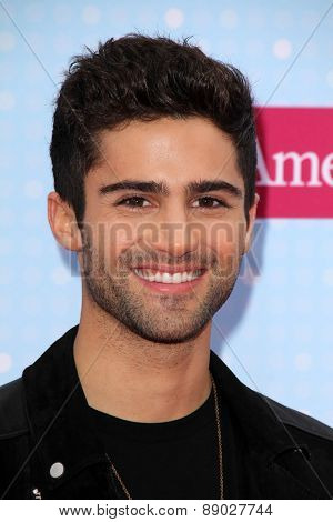 LOS ANGELES - APR 25:  Max Erich at the Radio DIsney Music Awards 2015 at the Nokia Theater on April 25, 2015 in Los Angeles, CA