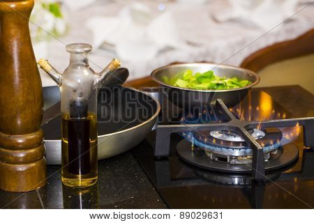 table gas stove