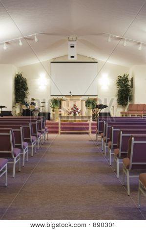 Church Interior - Vertical