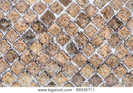 Stone Brick Wall Texture, May Use As Background