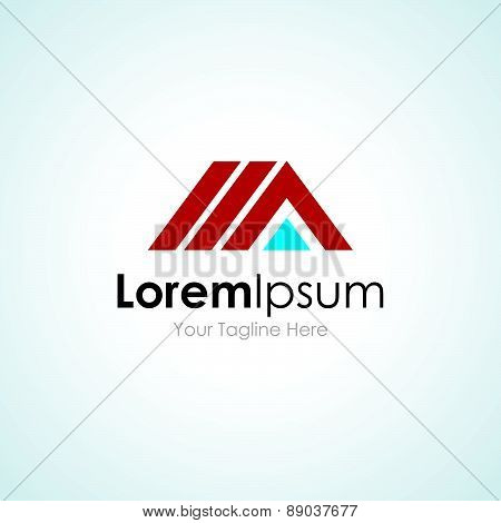 House construction building innovative solutions concept elements icon logo