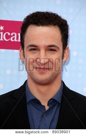 LOS ANGELES - APR 25:  Ben Savage at the Radio DIsney Music Awards 2015 at the Nokia Theater on April 25, 2015 in Los Angeles, CA