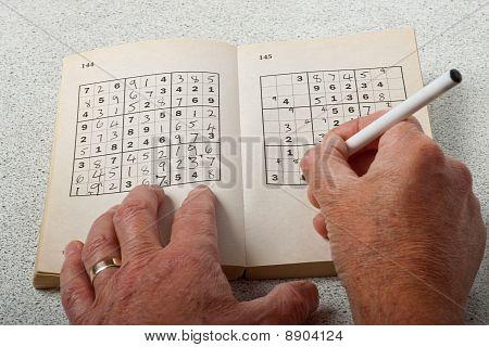 Playing Sudoku