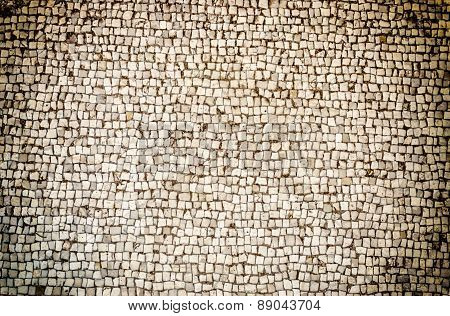 Stone Floor Texture With Vignette Effect, May Use As Background