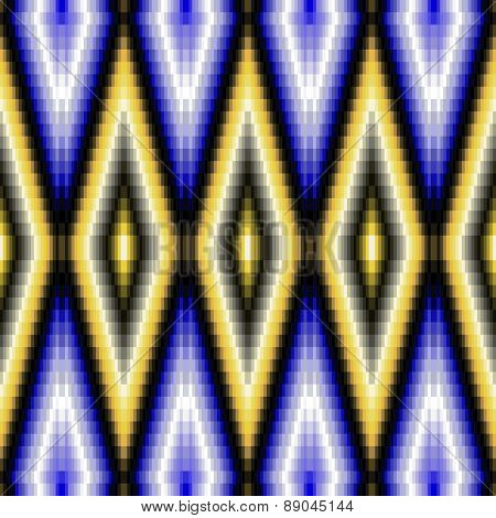 Abstract decorative mosaic pattern