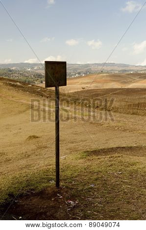 signboard and landmark
