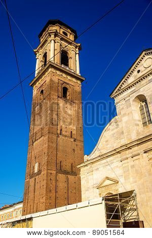 San Giovanni Battista Church In Turin, Italy