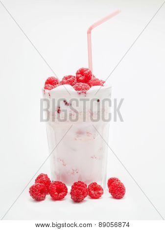Raspberry Milkshake