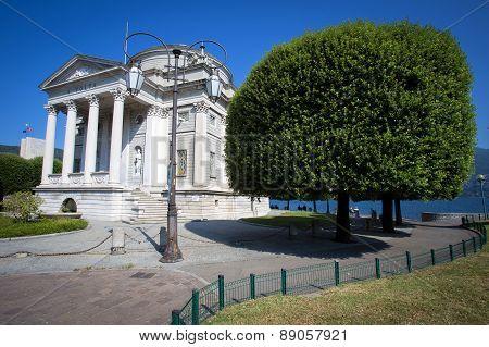 Volta Temple In Como, Italy