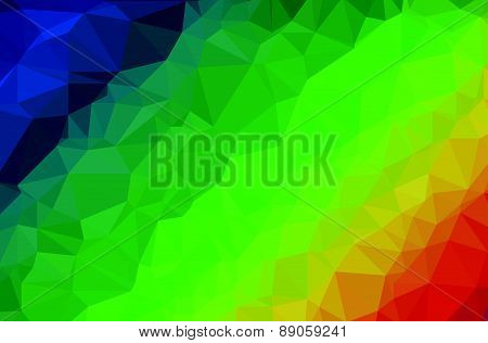 Background modern texture triangle geometry rainbow color spectrum