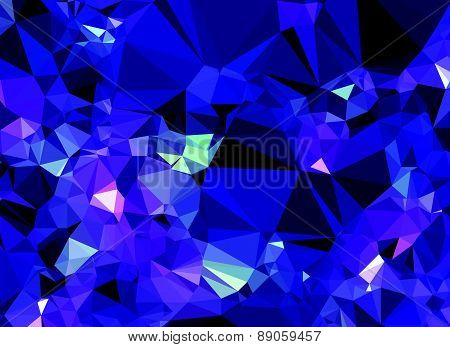 Background abstract triangle geometry pattern crystal universe