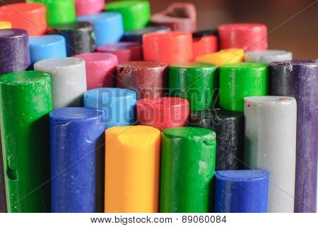 Old Crayons Colors
