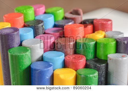Old Crayons