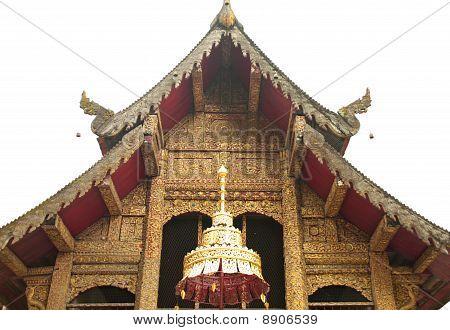 Church Of Sumpao Temple Chiang Mai Thailand