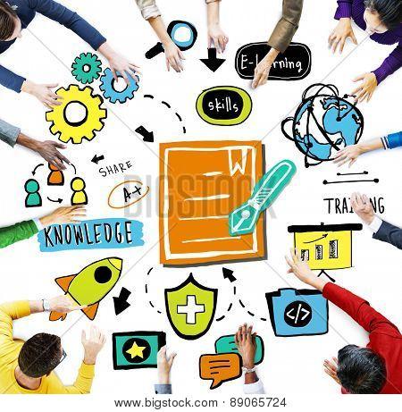 Business Classroom Discussion Brainstorming Workshop Concept