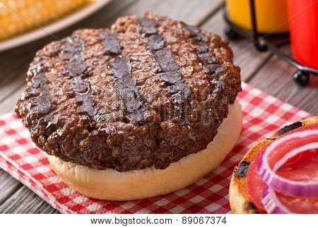 Barbecued Hamburger