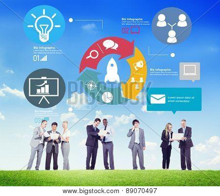 Innovation Start Up Success Growth Concept