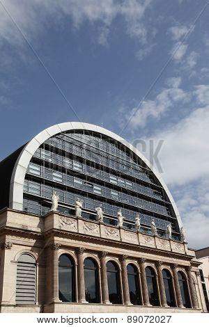 Opera house in Lyon, France