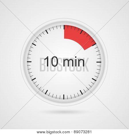 Vector Timer Icon.