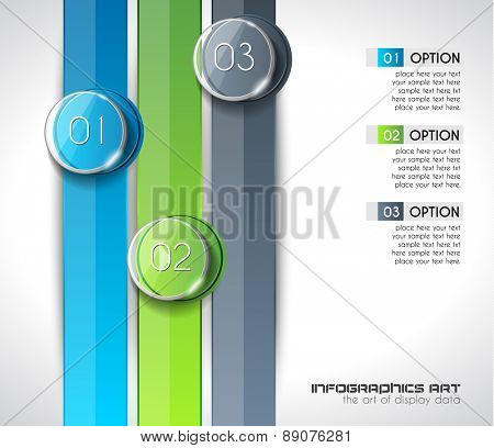 Modern Abstract Infographic template to display data, product ranking, services classification, statistics display,results and so on.