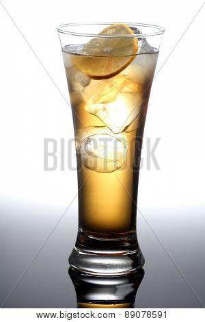Studio shot of alkohol drink