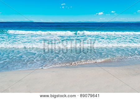 Blue Sea And Sky In Stintino