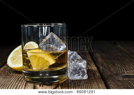 Whiskey With Lemon